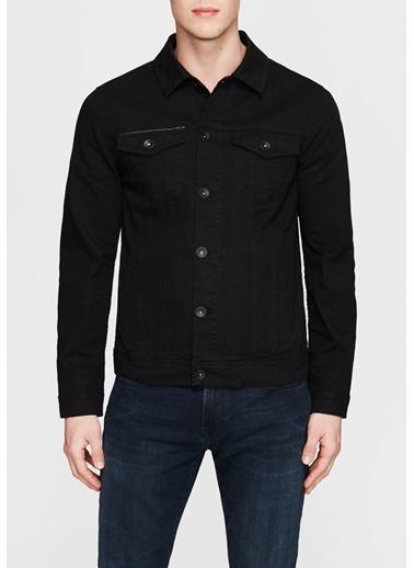 Mavi Jean Ceket | Frank - Dar Kesim Siyah